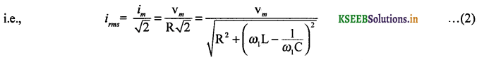 2nd PUC Physics Question Bank Chapter 7 Alternating Current 53
