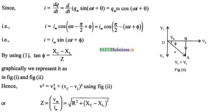 2nd PUC Physics Question Bank Chapter 7 Alternating Current 56