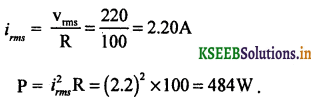 2nd PUC Physics Question Bank Chapter 7 Alternating Current 76