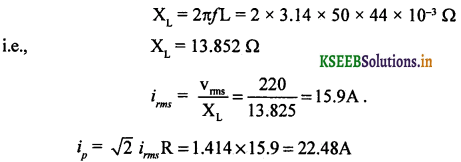 2nd PUC Physics Question Bank Chapter 7 Alternating Current 77