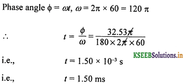 2nd PUC Physics Question Bank Chapter 7 Alternating Current 83