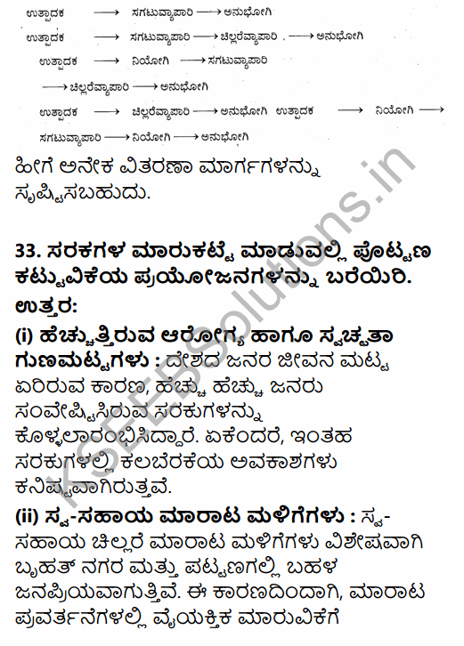 2nd PUC Political Science Model Question Paper 4 with Answers in Kannada 23