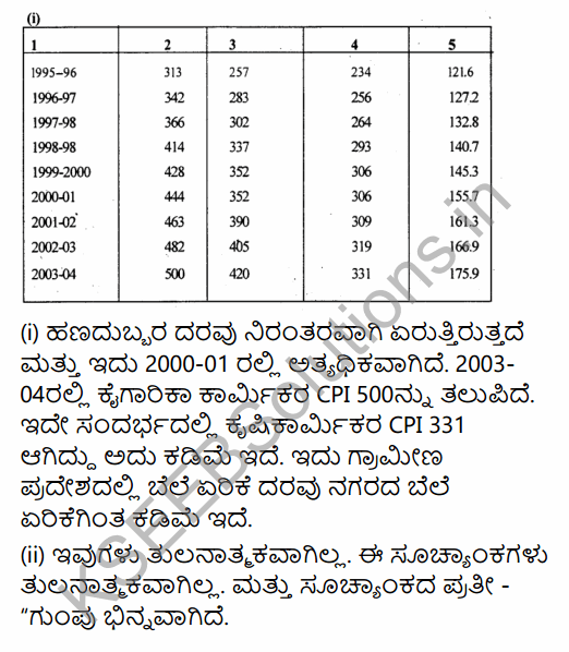 1st PUC Economics Question Bank Chapter 8 Index Numbers in Kannada 14