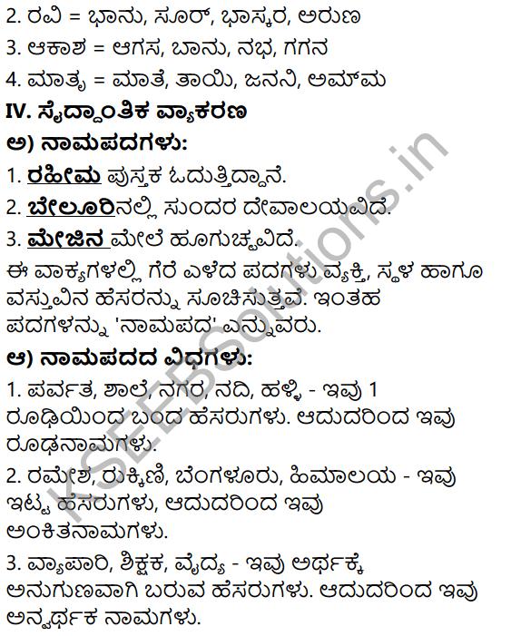 Tili Kannada Text Book Class 6 Solutions Gadya Chapter 7 Desapremi Kavi Iqbal 11