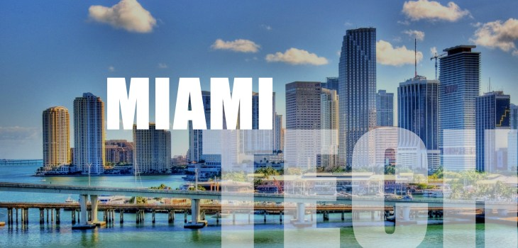 Miami Tech City, SEO, search engine optimization, skyline, blue water