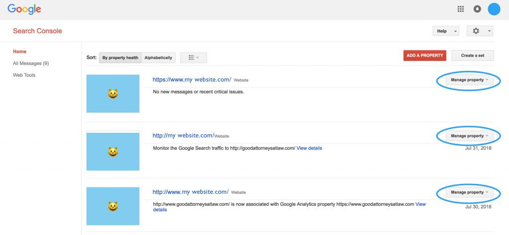 search console, manage property, add user, how to ksengo seo,
