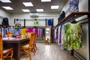 Interior picture fashion shop