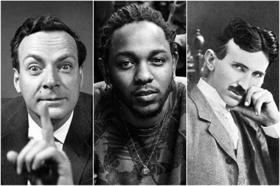 Feynman. Lamar. Tesla.