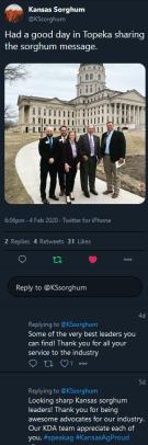 Sorghum Story Tweet