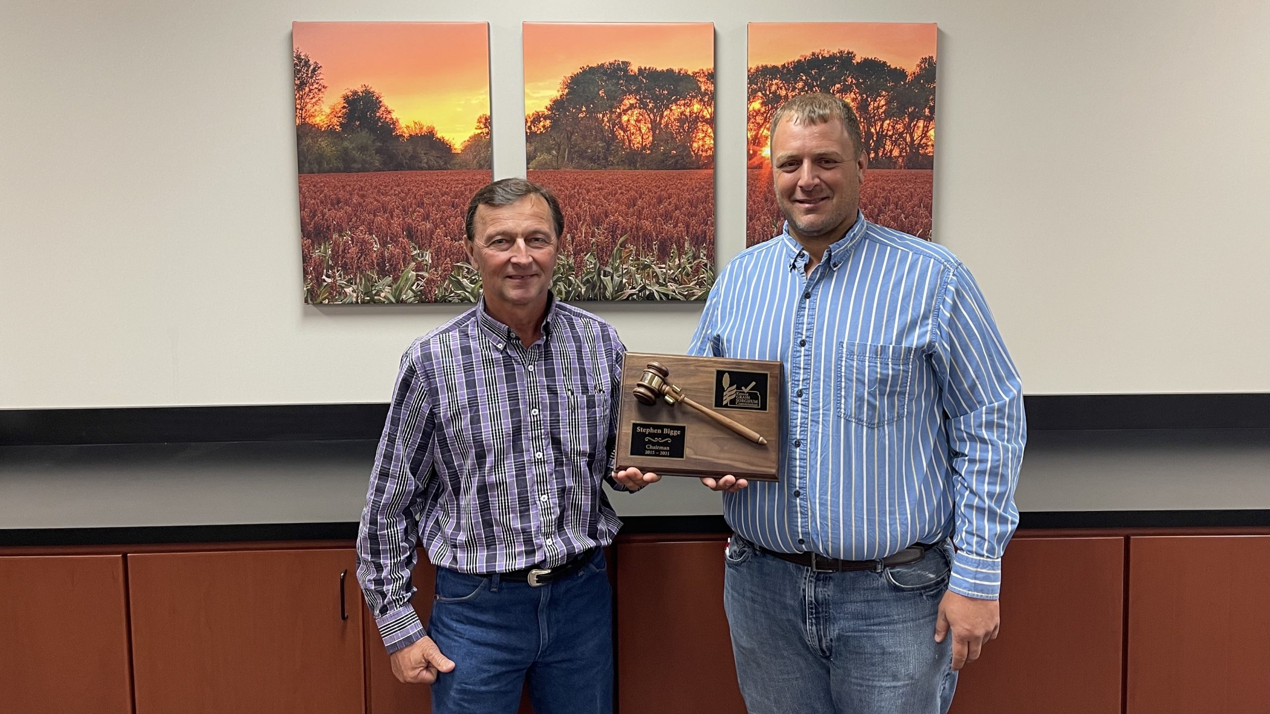 Kansas Grain Sorghum Commission Elects New Chairman, Officers