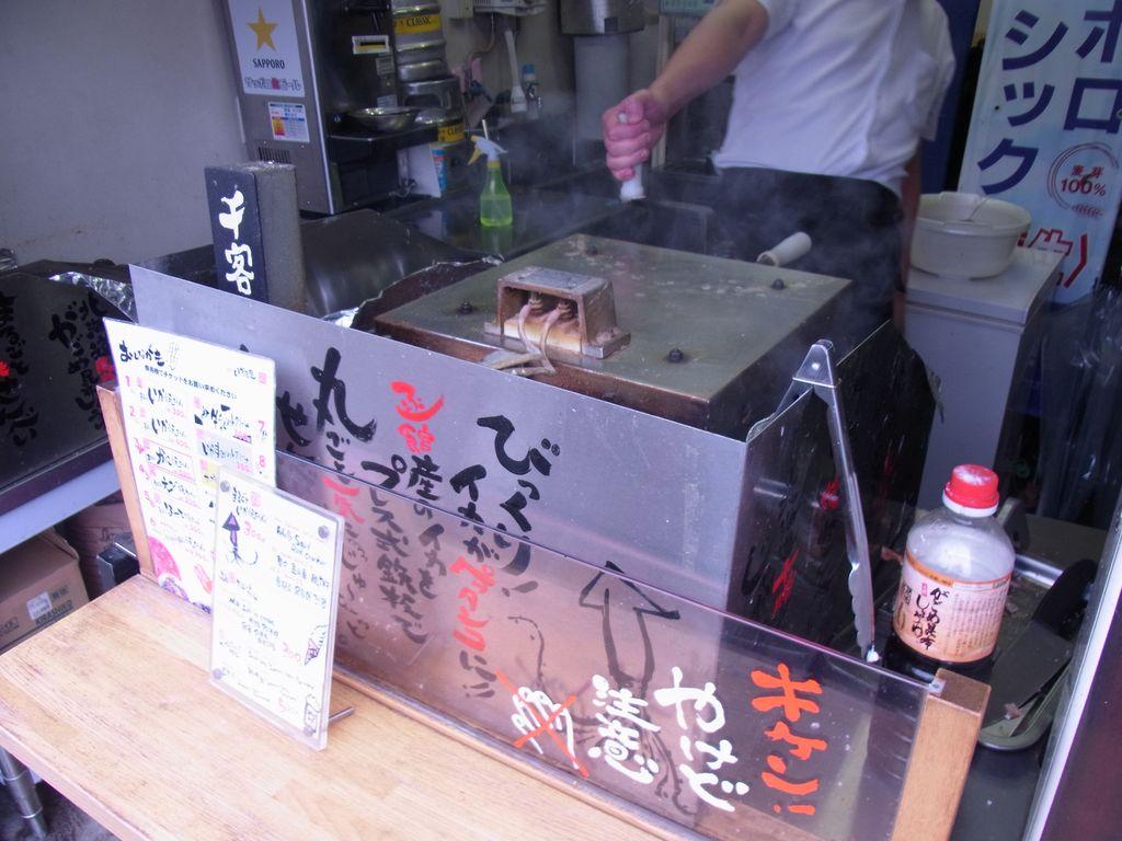 函館名物!丸ごとイカをプレスしたイカ煎餅が食べれるお店『函館いか煎屋』