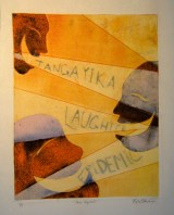 Monotype, 2011, 11 x 20, with light source