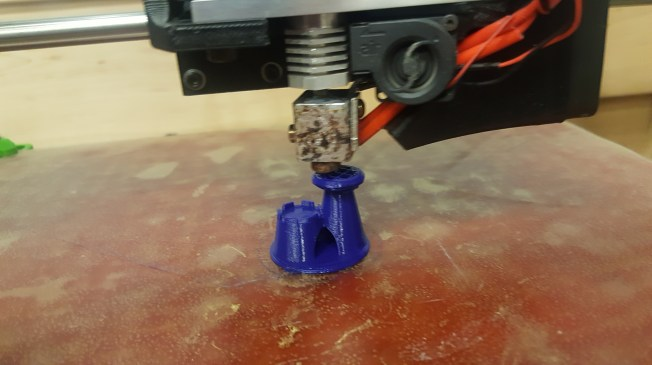 Towards the end of the print