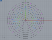 I divided the rings to represent each group