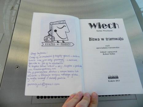 Bitwa w tramwaju - Stefan Wiechecki Wiech