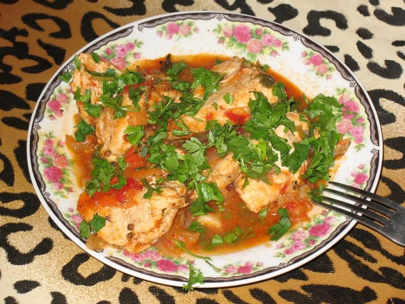 Kuchnia gruzińska - Czachochbili