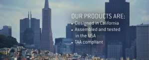 KSI keyboards, prox readers and biometric fingerprint readers are TAA compliant -- designed, assembled and tested in the USA