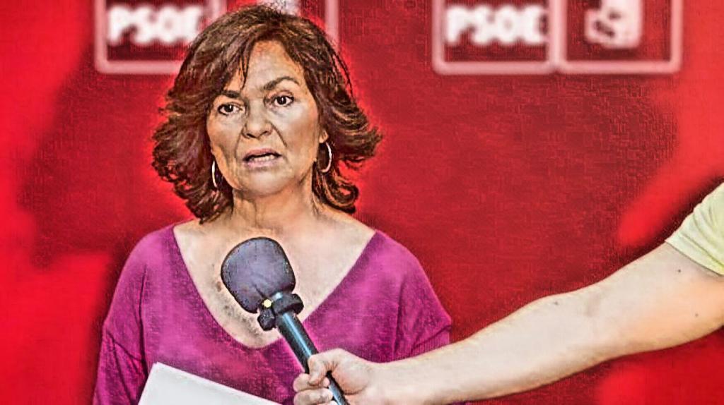 Qué lista que es Carmen Calvo