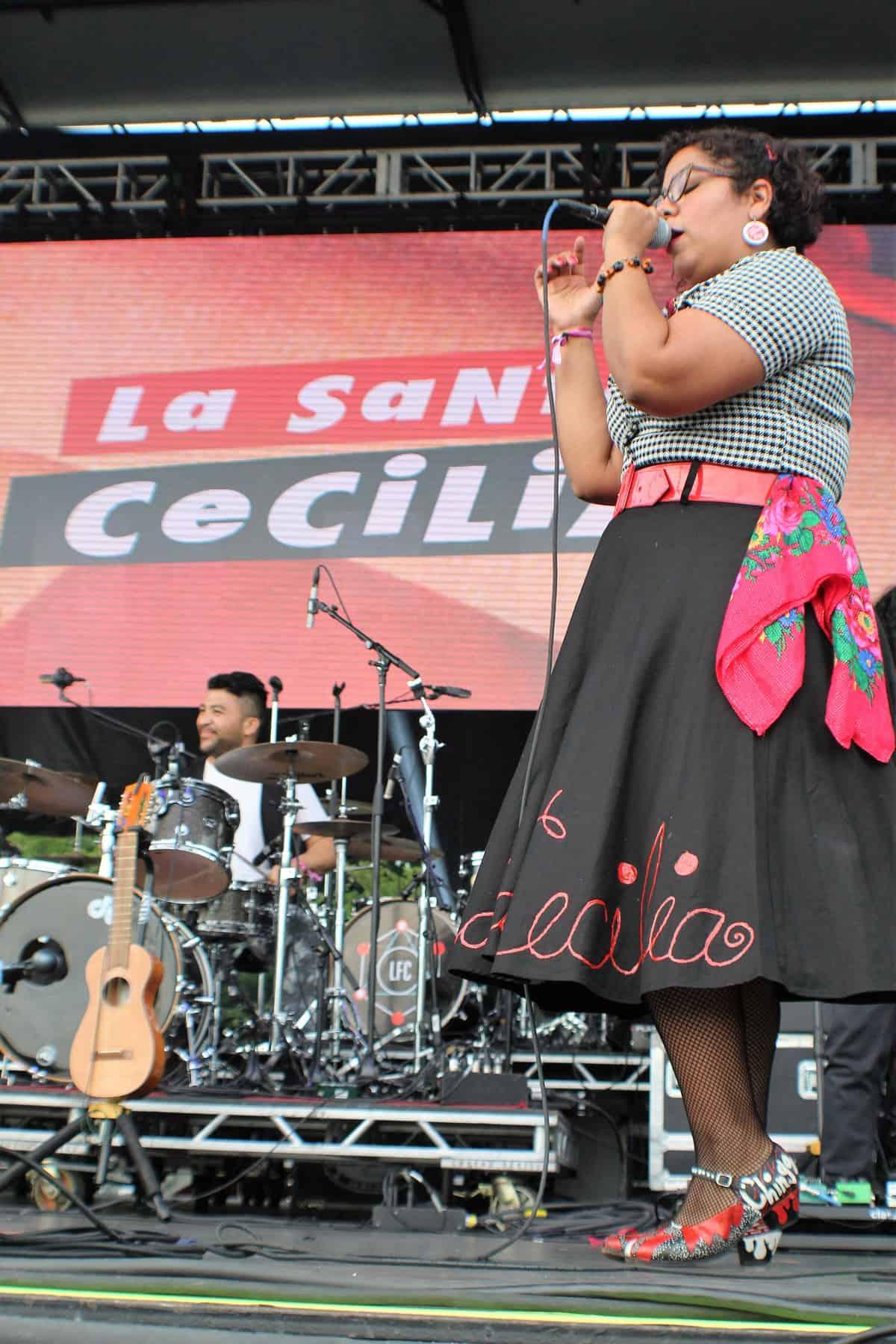 La Marisol from La Santa Cecilia