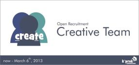 Open Recruitment Creative Team oleh K'Prok KSK BIOGAMA