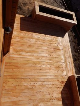 Macrocarpa deck