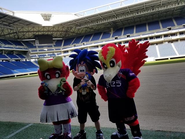 【番外編】吹田スタジアム見学ツアー&Jリーグマスコット好きが集まる会に参加しました♪