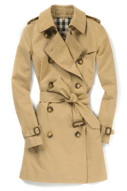 classic burberry trench