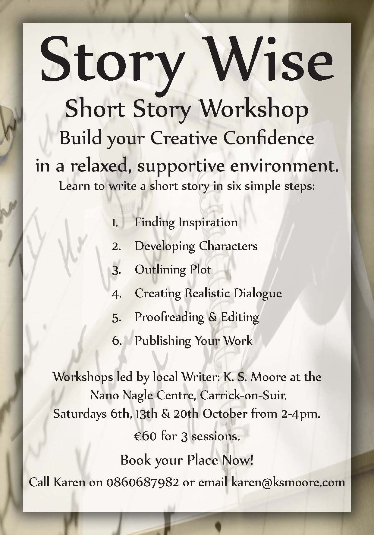 Story Wise A Short Story Workshop