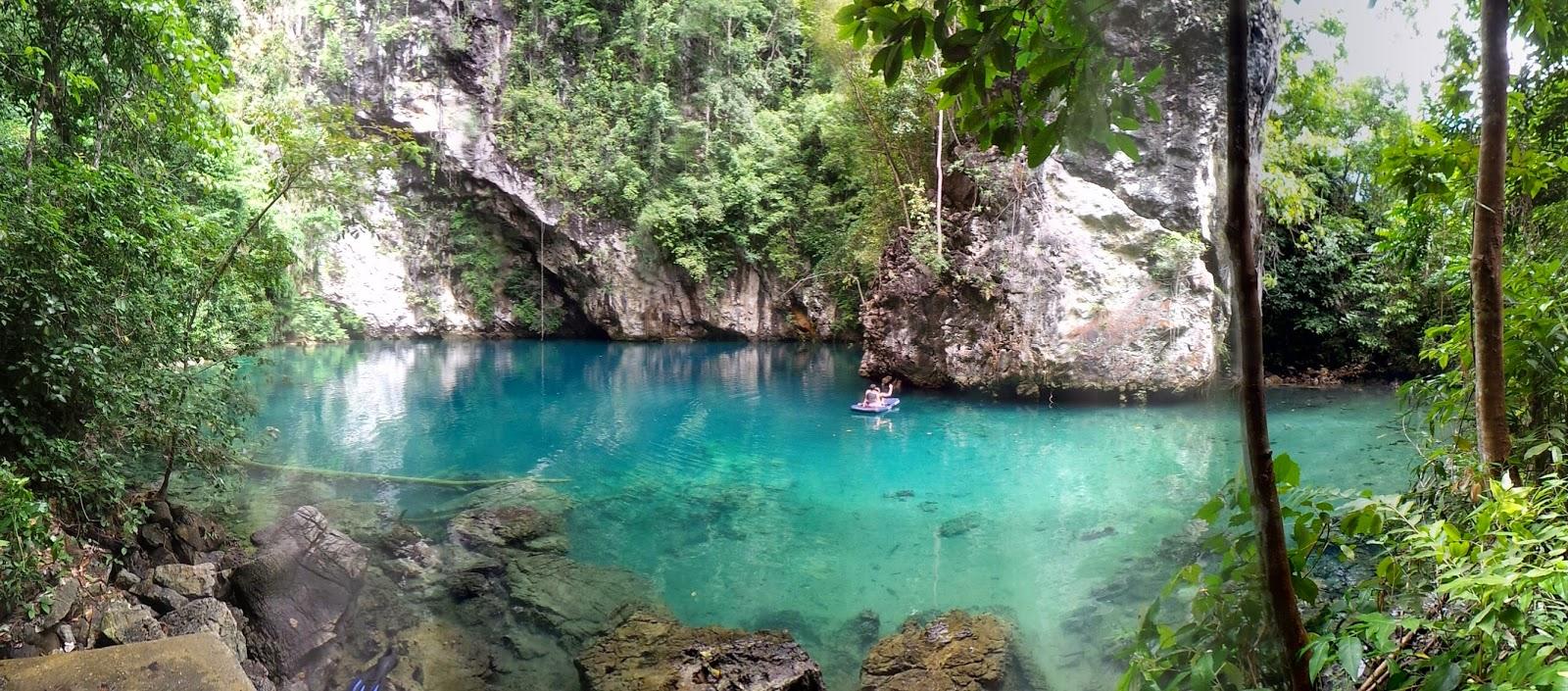 Danau Biru Sulawesi Tenggara