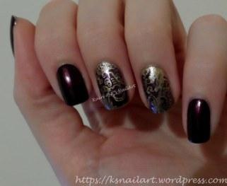 Golden Dragon Nails