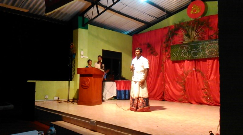 "Memories of √36 Talent show – Song ""Sandakada Pahanaka"""