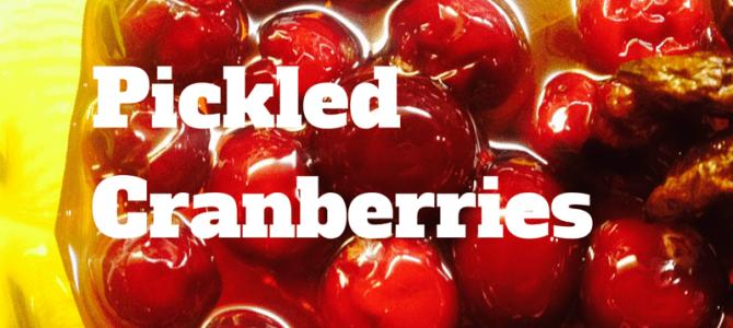 Pickled Cranberries Recipe