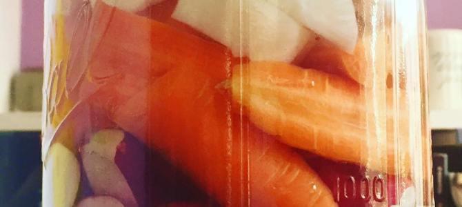 Fast Fermented Pickle Recipe – Radish, Daikon, Cucumber & Carrot