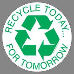 Recycle for Tomorrow Sticker