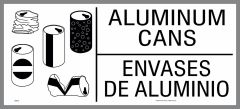 large aluminum cans sticker