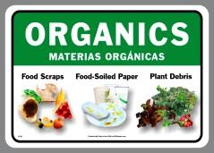 Bilingual Organics Sticker