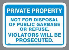 Private Container Garbage Sticker