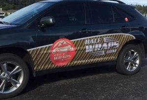 Half Wraps vehicle wraps