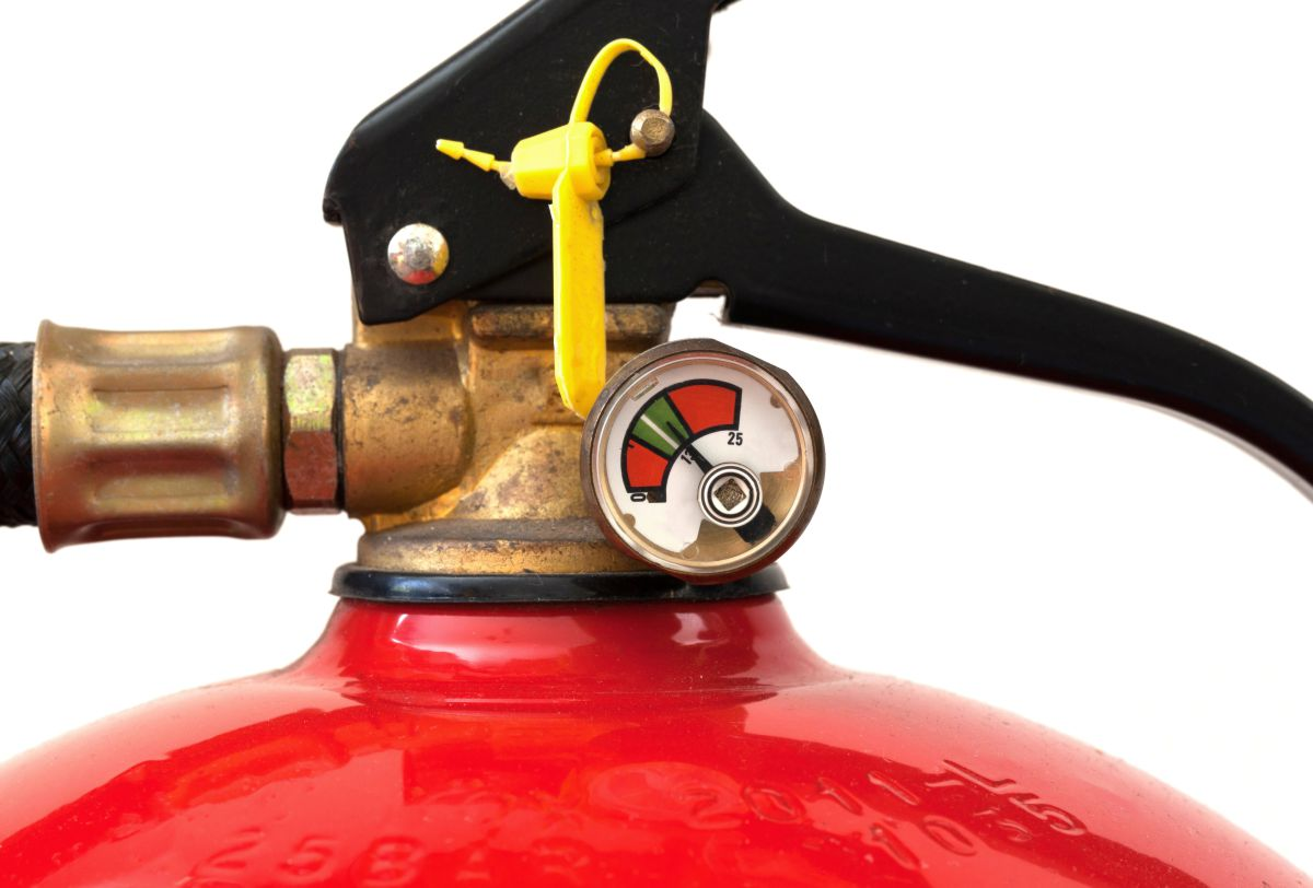 Fire extinguishers require routine maintenance and testing for proper function.