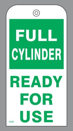 FULL CYLINDER - READY FOR USE
