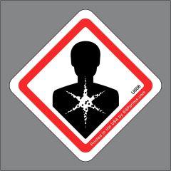 GHS Health Hazard Label