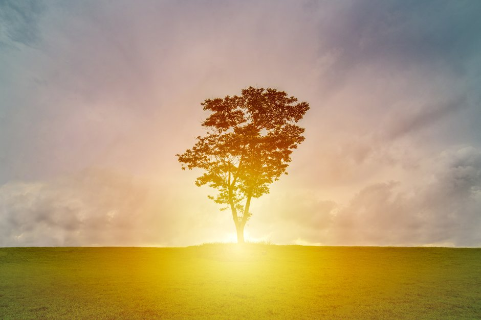 Every sunrise represents a new hope