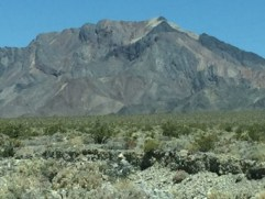 Driving thru Death Valley