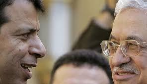 Махмуд Аббас (справа) и Мухаммед Дахлан