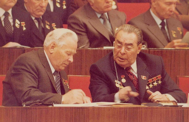 На съезде ЦК КПСС
