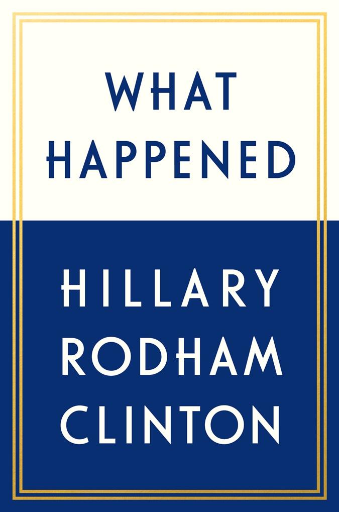 Обложка новой книги Хиллари Клинтон