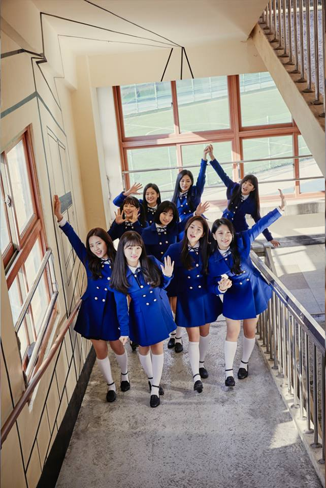 Fromis_9 groupe 1