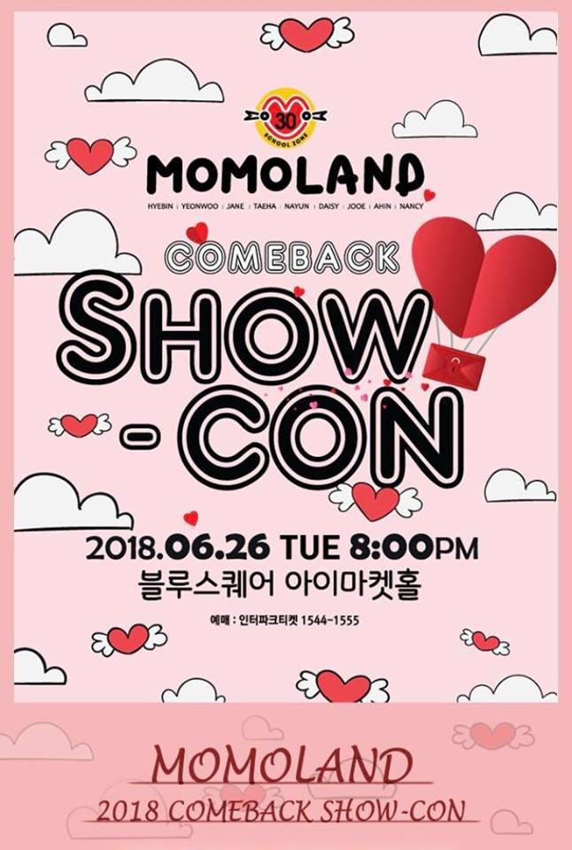 momoland showcon