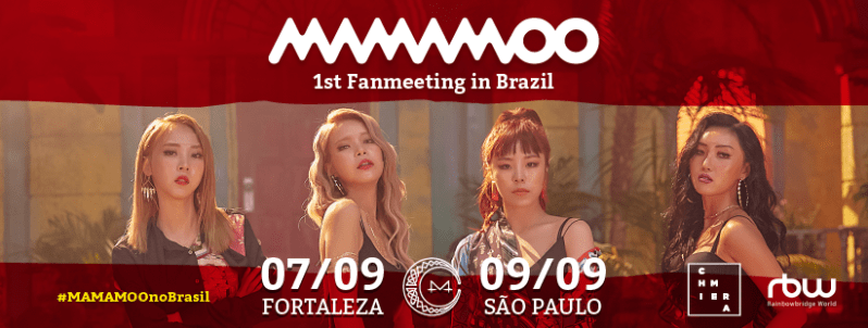 mamamoo fan meeting brésil