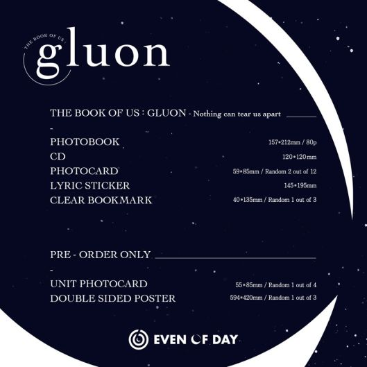 THE BOOK OF US - GLUON